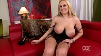 Super busty blonde beauty Angel Wicky enjoys a ... Thumbnail