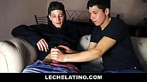 Hot Latin Twink Sucks And Takes RAW Cock For Cash