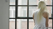 Sexy French blonde Jessy Volt enjoys a hot sex thumbnail