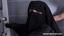 12498 Randy worker helps Valentina Ross in niqab preview