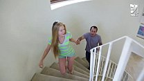 Mexican baby sitter fucks young teen blonde Avr...
