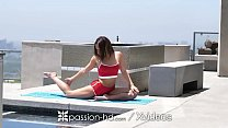 18382 PASSION-HD TASTY fuck and facial for thick yoga step sister preview