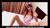 Ladyboy Sandy Pajama Cosplay Party pornhub video