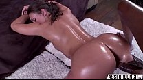 Olivia Wilder appreciates interracial anal sex by her boyfriend