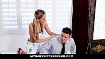 MyBabySittersClub - Obsessed BabySitter Gets CreamPied preview image