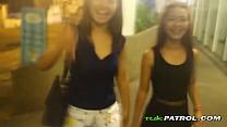 Asian teen street hooker taken to hotel room of...