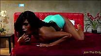Round butt ebony babe gagging and fucking big dong - 9Club.Top