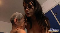 Young Girl Is So Kinky That Fucks An Old Fart I