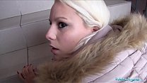 Public Agent Hot Blonde Lucy Shine Take Cash fo...