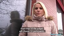 Public Agent Hot Blonde Lucy Shine Take Cash for Sex