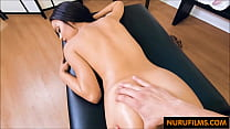 Petite latina blows the massage guy Thumbnail