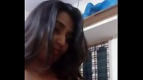 Swathi Naidu Dress Removing latest Selfie Video...