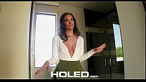 HOLED - Buyer inspects Realtor Gia Paige perfec...