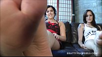 Mary and Mandy sexy foot tease porn image