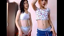 2 girls lush masturbation