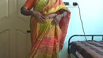 16952 Indian desi maid forced to show her natural tits to home owner preview