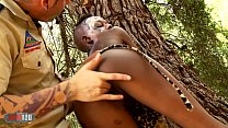African Sex Safari with skinny ebony babe fucking white guy pornhub video