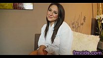Kylie Kalvetti gives a hot blowjob - Download mp4 XXX porn videos