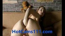 Hot German Teen Fisting Her Ass on Cam Vorschaubild