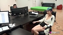 Newbie Young Girl Is Fucked By Jordi In An Office