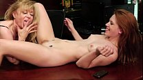 Horny Assistant Shows Nina Hartley What She Can Do - 4tube preview image