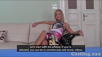 Casting HD Fashion model gets creampie in casting Vorschaubild