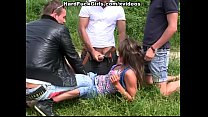 outdoor hardcore sex with a cute girl (nicole nicks porn) thumbnail