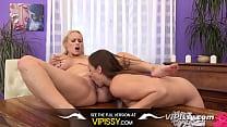 Vipissy - Big titted pissing lesbians share a v...