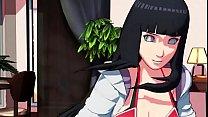 Hinata dancing MMD 3D SDM naruto