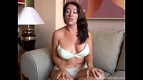 squeaky clean brazzers - sexy old spunker with nice big tits fucks her soaking wet pussy thumbnail