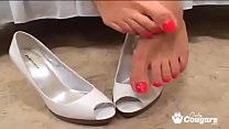 Kimberly Kole Has Her Sexy Feet Fucked And Covered With Hot Cum pornhub video
