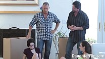 Cadey Mercury and Lily Jordan Rammed by Stepdads preview image