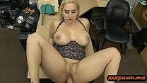 Big ass and big tits woman nailed hard