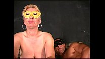 Masked Milf wants more and more sex!