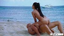 VIXEN Latina Sugar Baby Satisfies Her Daddy On Vacation ‣ indian handjob videos thumbnail