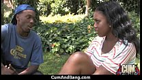 Black African Teens Fucked In Group Sex Party 20 image