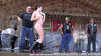 hot girls getting buck fucking naked at the abate of iowa biker rally this year preview image