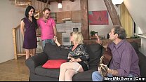 Free download video bokep His mother starts dirty game...