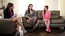 The Family Therapist - Elle Alexandra, Allie Haze, Angela Sommers - 9Club.Top