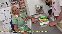 Big Boob Milfs Jannet And Sharon Pink Get Fucked At The Grocery Store
