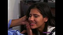 Teen Victoria Valencia Sucks Big Cock Of Dads E... Thumbnail