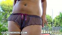 Image: CULIONEROS - Curvy Colombian Jasmine Black Shows Off Her Big Tits & Gets Fucked