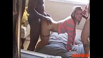 Amateur Teen Used by BBC While Boyfriend Tapes:...