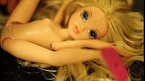 My cute blonde Moxie Girlz doll is a sexy CUM SLUT (bukkake compilation)
