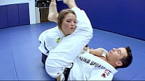 Horny Karate Students Fucks With Her Trainer Af
