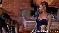 White dominated by black femdom girls's Thumb