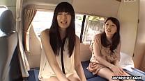 Japanese chicks, Shiori and girlfriend uncensored pornhub video