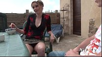 French mom seduces younger guy and gets sodomiz...