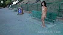 Nude in San Francisco:  Iris naked in public porn thumbnail