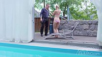 Girlsrimming - Nathaly Cherry Pool Massage